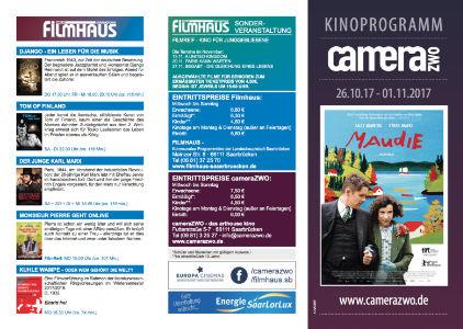 Premium-Kinoflyer Saarbrücken
